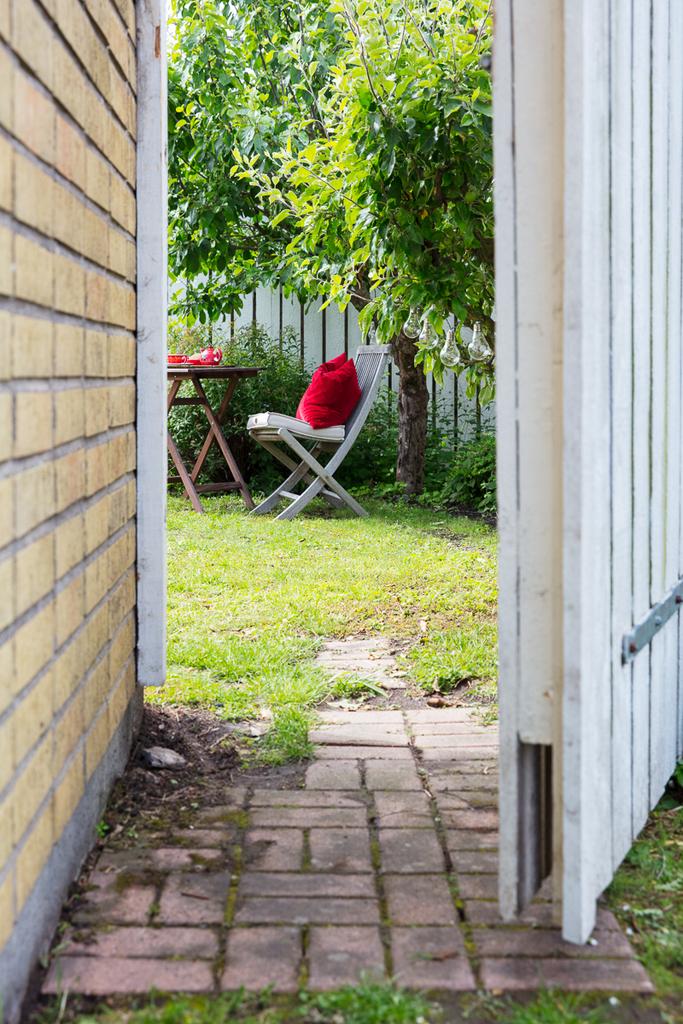 Ingång till trädgården