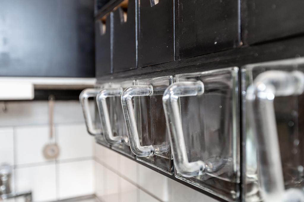 Vackra glasburkar för smart förvaring