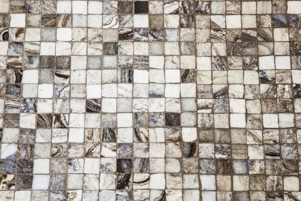 Detaljbild - mosaik i originalutförande