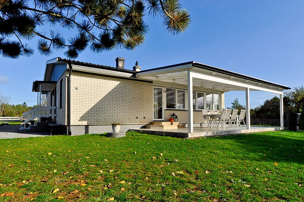 Trivsam boplats nära Visby