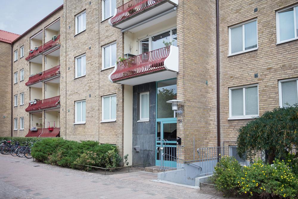 Brf. Hanaholm 1 - tvåa med balkong i väster