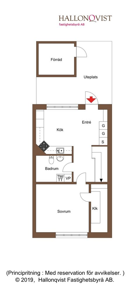 Planlösning - bottenvåning